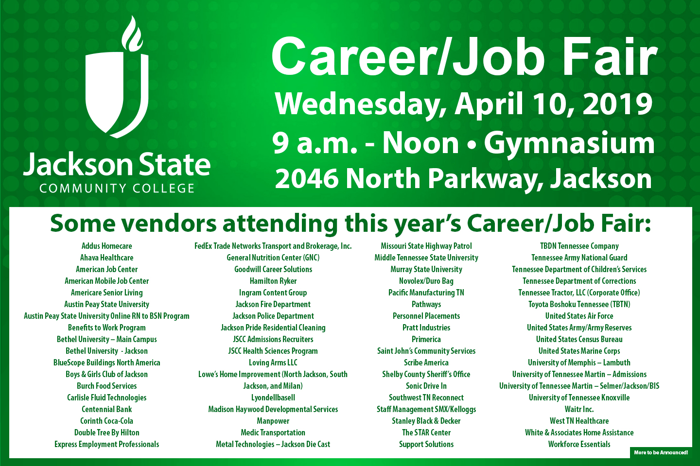 Jscc Career Fair 2019 002 Decatur County Chamber Of Commerce